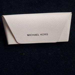 Michael Kors Leather Glasses Case